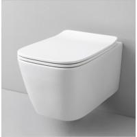 Конзолна тоалетна A16 без вътрешен ръб