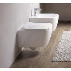 Конзолна тоалетна Faster без ръб