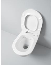 Конзолна тоалетна File 2.0 без ръб