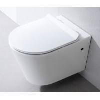 Конзолна тоалетна Sintra без вътрешен ръб