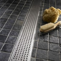 Линеен подов сифон Square 585 мм.