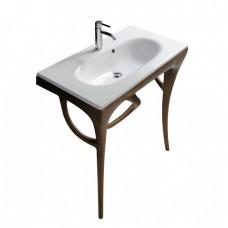 Мивка за баня ERGO с дървена структура 85 - мостра