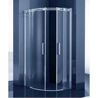 Овална душ кабина 90х90 см.
