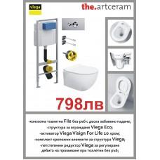 Промо пакет Art Ceram и Viega