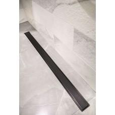 Черен линеен подов сифон Shower drain C Blackline 70 см.
