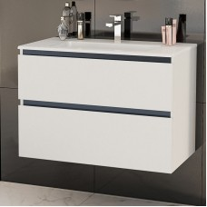 Шкаф за баня Tenso 80 с 2 чекмеджета