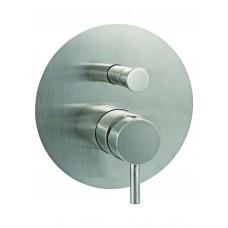 Light смесител за вграждане с разпределител инокс