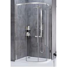 Oвална душ кабина 90х90 см.
