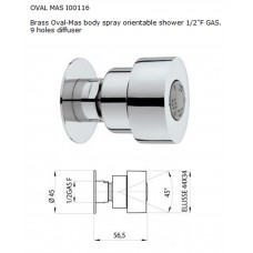 Oval-Mas овална дюза